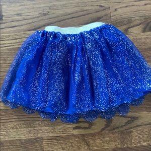 Sparkly girls skirt.